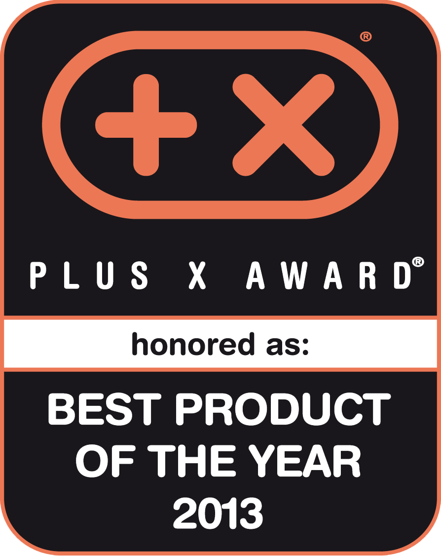 Plus X Award Bestes Product of the Year 2013
